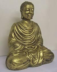 meditating buddha statue garden sculpture ornament gardensite co uk