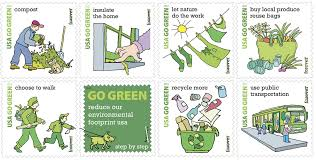 the usps s new go green sts will you seeing sts