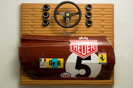 ferrari wall art the automotive art of gregory johnston