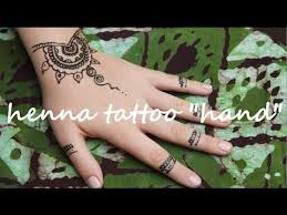 diy henna tattoo