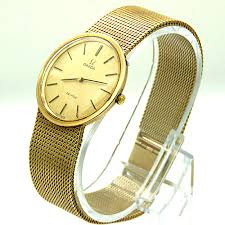 gold omega bracelet images Omega de ville 9ct gold mechanical vintage gentlemans watch jpg