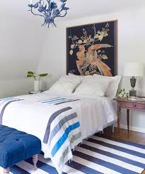 Blue And White Bedroom Wallpaper 39 Guest Bedroom Pictures Decor Ideas For Guest Rooms