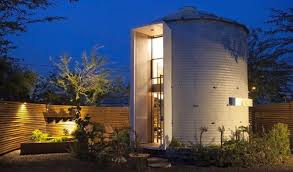 Silo House Silo House By Christopher Kaiser Is An Upcycled Version Of Old