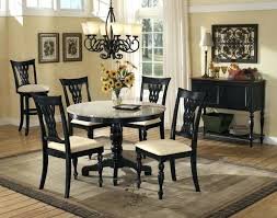 black dining room set black granite table and chairs black dining room large size