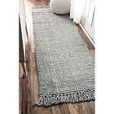 loop rugs nuloom handmade fibers chunky loop runner area