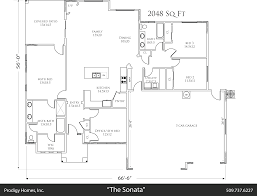 spotlight the sonata floorplan prodigy homes inc