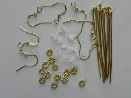 Silver Findings For Jewelry Making - cocoa u0027s variety starter bead kit with wood crystal tibetan