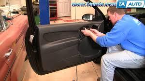 ford focus door handle parts how to install repair replace broken door handle ford focus 00 04