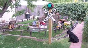 garden train layout railroading jam u0026 l outdoor garden train