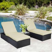 Outdoor Chaise Lounges Gym Equipment Outdoor Chaise Lounge Chair Patio Furniture Set