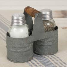salt u0026 pepper can caddy pepper country farmhouse and farmhouse
