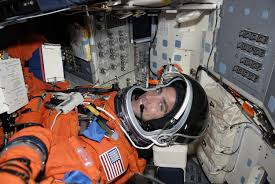 space shuttle astronaut shuttle mission twice postponed for seal turned astronaut alum
