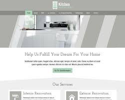 kitchen wordpress theme u2013 website template for contractors u2013 best