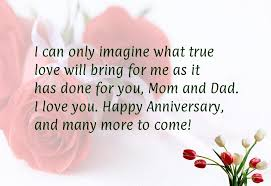 wedding wishes to parents wedding anniversary wishes for parents quotes in really