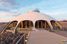 huell howser volcano house huell howser s volcano top saucer house in the mojave desert is