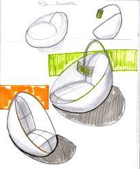 capsule type chair sketch by chutato on deviantart