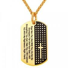 bible necklace cross bible necklaces pendants yellow gold plated stainless