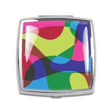 Karim Rashid Shop Blobnik Compact Mirror By Karim Rashid A3kr23cp On Acme Studio