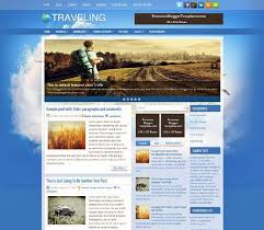 travel blogs images 40 free travel blogger templates blogger template free download jpg