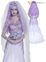 mens ladies zombie bride ghostly groom halloween fancy dress