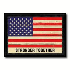 Vintage Home Interior Products Stronger Together Hillary Clinton Usa Vintage Flag Patriotic