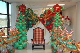 this scene was created for a breakfast with santa event by several