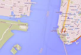 Map Of New York Harbor by America U0027s Cup Yacht Races Coming To New York Harbor In May Nj Com