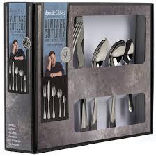 Jamie Oliver Kitchen Knives Jamie Oliver Vintage 18 10 Stainless Steel Cutlery Set 40
