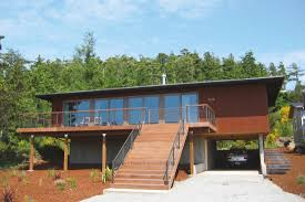 a modernist home in the gorge aims high for now u2014and later