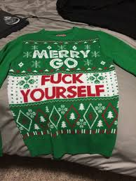 Christmas Sweater Meme - i hate christmas my family says i need to buy an ugly christmas