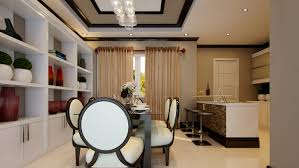 philippines single story house design with interior details
