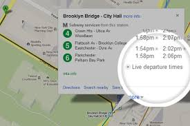 New York Mta Map Google Brings Real Time Nyc Subway Schedule Data To Google Maps