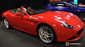 Ferrari California T Interior 2015 Ferrari California T Covertible Exterior And Interior
