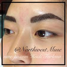 Permanent Makeup Eyebrows Hair Stroke Tattoo Cosmetics Northwest Muse Permanent Cosmetics U0026 Electrolysis