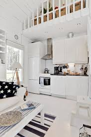 scandinavian style living room white wooden scandinavian style house by the sea