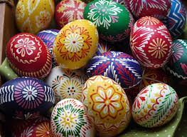 Decorating Eggs Happy Easter Traditional Art Of Decorating Eggs In Slovakia