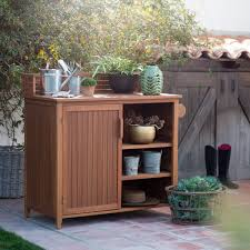 stunning potting bench with sink lowes photos house design ideas
