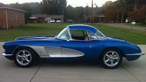 1960 chevy corvette stingray 1960 chevrolet corvette resto mod s196 chicago 2014