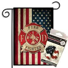 Firefighter Home Decorations Firefighter Home Decor Flags House U0026 Garden Abrotherhood