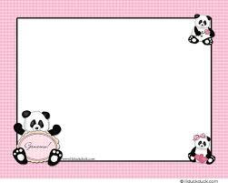 Panda Baby Shower Invitations - spanish baby shower invitation alesi info