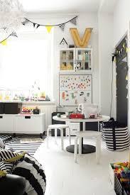 chambre fille noir et blanc deco chambre enfant noir blanc