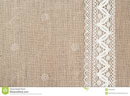 burlap and lace ribbon burlap background with lace royalty free stock photos image