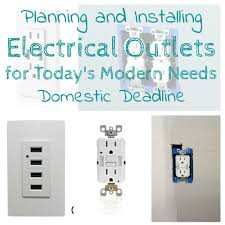 planning and installing electrical outlets in a kitchen renovation