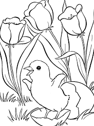 coloring pages to print spring spring coloring pages getcoloringpages com