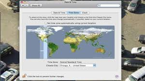 Current Time Zone Map by How Do I Change The Time Zone On My Mac Youtube