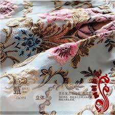 Brocade Home Decor Metallic Jacquard Brocade Dress Fabric Cloth Width145cm 100cm