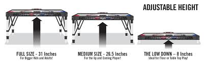 amazon com nhl 48 inch adjust u0026 store hover hockey table