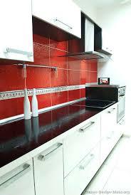 Red And Black Kitchen Tiles - red backsplash kitchen u2013 subscribed me