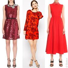 red dress with black how to wear vintage red dress inspiration