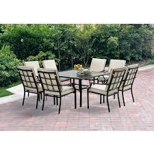 Patio High Dining Set Outdoor 8 Seat Patio Set Outdoors